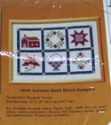 Creative Circle 1648 Autumn Block Kit SEALED