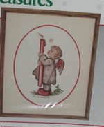 JCA Hummel Candle Light Counted Cross Stitch Kit SEALED