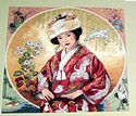 Dimensions Gold Collection Counted Cross Stitch, Japanese Maiden
