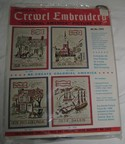 Bucilla Vintage Crewel Embroidery Kit Olde Boston