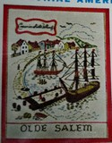Bucilla Vintage Crewel Embroidery Kit Olde Salem