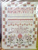 Paragon Virtue Sampler Reproduction Cross Stitch Kit