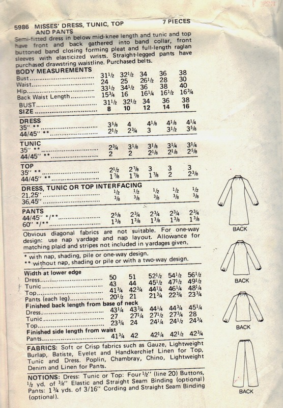 Butterick 5986 Willi Smith Sewing Pattern UNCUT - Click Image to Close
