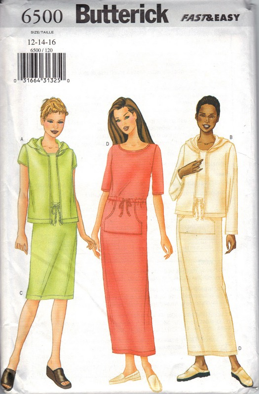 Butterick 6500 Vest Jacket Dress Sewing Pattern UNCUT - Click Image to Close