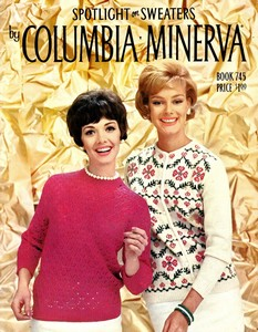 Spotlight on Sweaters By Columbia Minerva (Book 745)