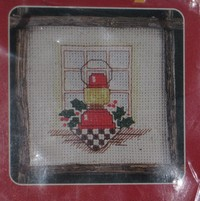 Christmas Traditions Cross Stitch Ornament Kit