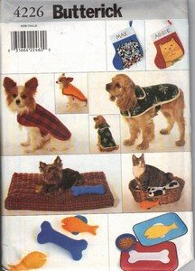 Butterick 4226 Pet Accessory Package