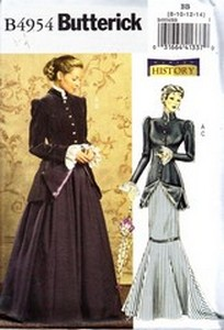 Butterick B4954 Edwardian Costume Pattern BB NEW