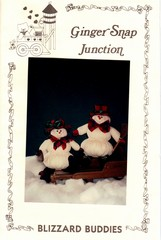 Blizzard Buddies Snowmen Craft Pattern New