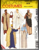 McCalls 2339 Adult Nativity Costume Pattern UNCUT