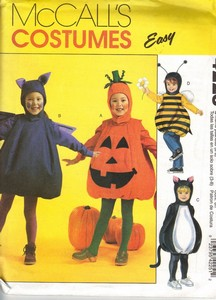 McCall's 4225 Child Pot Belly Costume Pattern