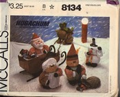 McCalls 8134 Hugachum Christmas Package Pattern