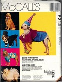 McCalls P212 Dog Costume Pattern UNCUT