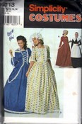 Simplicity 9713 Frontier Colonial Costume Pattern UNCUT