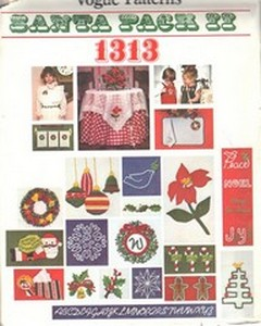 Vogue 1313 Santa Pack II UNCUT