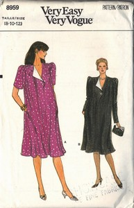 Vogue 8959 Maternity Dress Pattern UNCUT