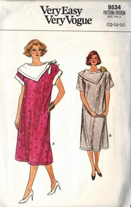 Vogue 9534 Maternity Dress Sewing Pattern UNCUT Size 12-14-16
