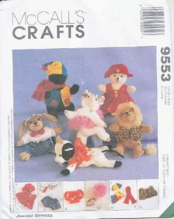 Bambini's Clothing, Accessories McCalls 9553 Uncut