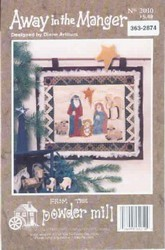 Away in the Manger Wall Hanging Pattern New