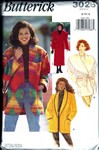 Butterick 3026 Coat Jacket Pattern UNCUT