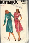 Butterick 3135 Size 10 Vintage Dress Pattern UNCUT