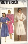 Butterick 3160 Size 10 Richard Warren Dress Pattern UNCUT