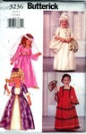 Butterick 3236 Girls Princess Costume Pattern NEW