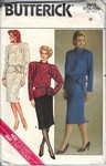 Butterick 3413 Size 8 Top Skirt Dress Pattern UNCUT