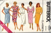 Butterick 3680 Classic Slim Dress Pattern UNCUT