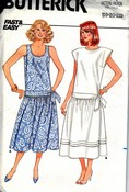 Butterick 3813 Misses Pullover Dress Pattern UNCUT Large