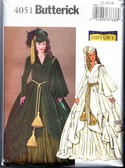 Butterick 4051 Costume Pattern Scarlet O'Hara 12,14,16 NEW UNCUT