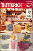 Butterick 441 Kitchen Accessory Nettle Creek Pattern UNCUT