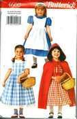 Butterick 4600 Girls Costume Pattern