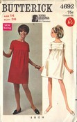 Butterick 4662 Gayle Kirkpartrick Dress Pattern UNCUT