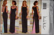 Butterick 4780 Nicole Miller Evening Gown Pattern UNCUT