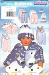 Butterick 5092 Infant Jacket Jumpsiut Pants Hat Pattern