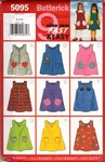 Butterick 5095 Toddler Jumper Pattern