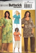 Butterick 5195 Size RR Separates Sewing Pattern Uncut