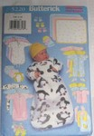 Butterick 5220 Small Infant Clothing Pattern