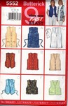 Butterick 5552 Misses Vest Pattern