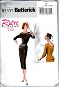 Butterick 5557 EE Retro '55 Top and Skirt Pattern UNCUT