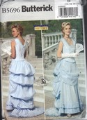 Butterick 5696 18th Century Evening Gown Pattern UNCUT