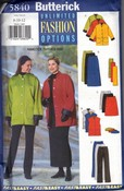 Butterick 5840 8-10-12 Jacket Vest Skirt Pants UNCUT