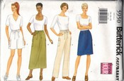 Butterick 5950 Skirt Shorts Pants Pattern UNCUT