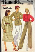 Butterick 5986 Willi Smith Sewing Pattern UNCUT