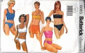 Butterick 6083 Swimwear Bathing Suit Sewing Pattern