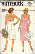 Butterick 6529 Size 12 Women's Summer Dress Pattern