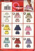 Butterick 6556 Baby Dress Panties Headband Pattern