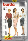 Burda 3593 Slim Pencil Skirt Pattern UNCUT