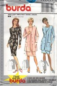 Burda 3641 Dress Jacket Pattern UNCUT